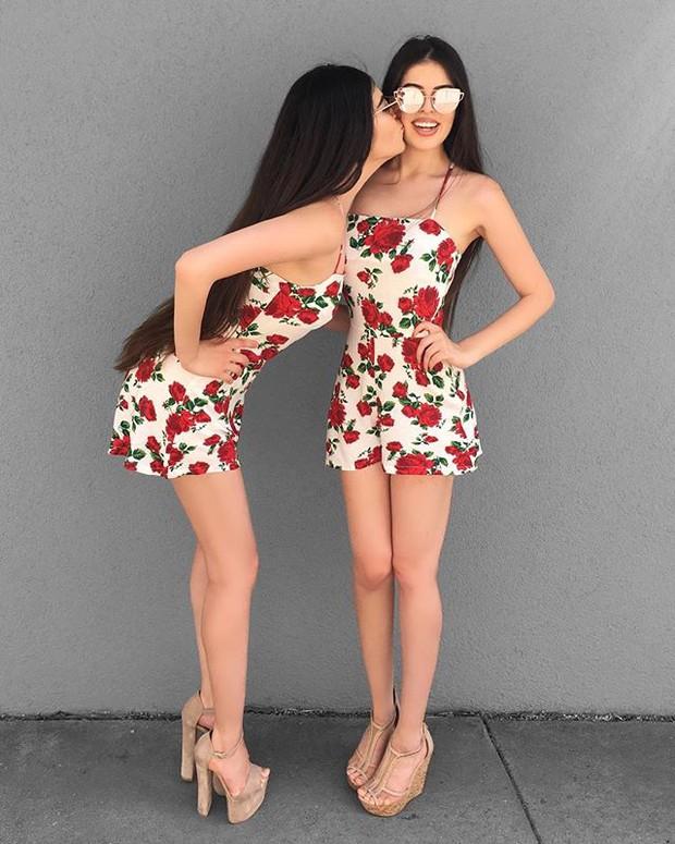 Cặp chị em sinh đôi người đẹp dáng xinh, thu hút sự chú ý của cộng đồng mạng Việt Nam - Ảnh 14.