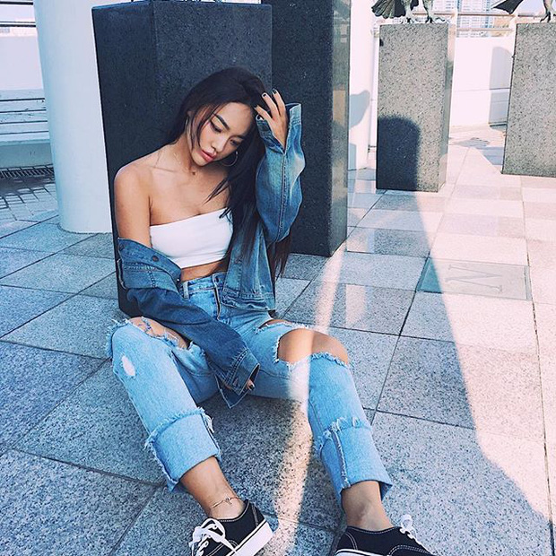 Việt Nam có Minh Tú, Hàn Quốc lại có người mẫu Kim Shony sở hữu body hot chẳng kém cạnh! - Ảnh 12.