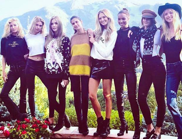 Hậu trường siêu gợi cảm của dàn mỹ nhân Victorias Secret chứng minh: Thiên thần là có thật! - Ảnh 1.