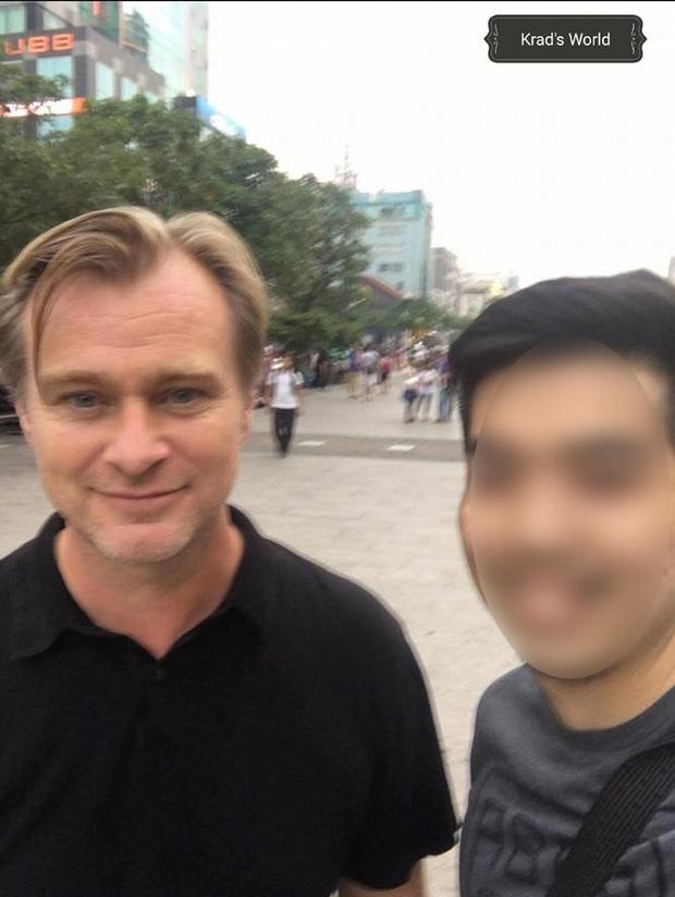 Christopher Nolan - đạo diễn lừng danh của The Dark Knight, Inception đang ở Việt Nam - Ảnh 2.