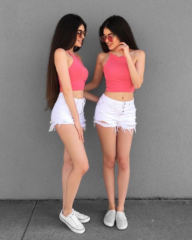 Cặp chị em sinh đôi người đẹp dáng xinh, thu hút sự chú ý của cộng đồng mạng Việt Nam - Ảnh 19.