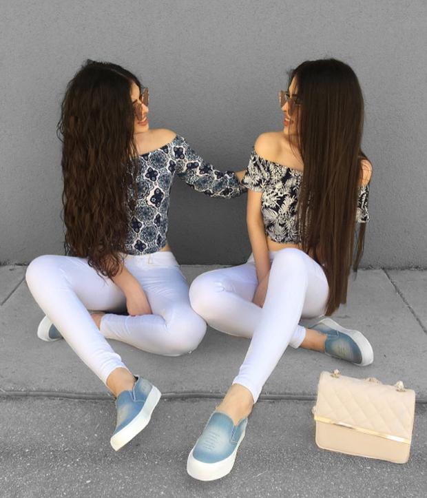 Cặp chị em sinh đôi người đẹp dáng xinh, thu hút sự chú ý của cộng đồng mạng Việt Nam - Ảnh 7.