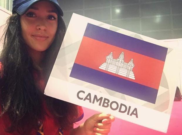 Vẻ đẹp lai của hot girl Taekwondo Campuchia gây sốt tại SEA Games 29 - Ảnh 8.