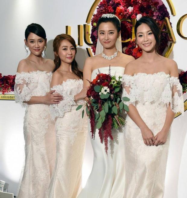 Trần Kiều Ân và nhan sắc ngọt ngào lại một lần nữa đánh bại cả cô dâu lẫn dàn phù dâu trong đám cưới - Ảnh 2.