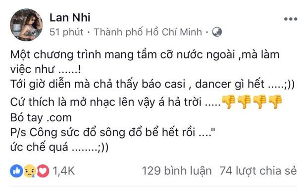 Đây là phản ứng bất ngờ của Đông Nhi sau khi bị BTC Next Top đổi kịch bản biểu diễn không báo trước! - Ảnh 2.