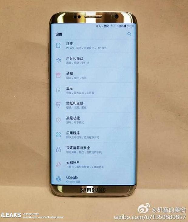 Samsung Galaxy S8 bất ngờ lộ diện dung nhan đẹp lung linh - Ảnh 2.