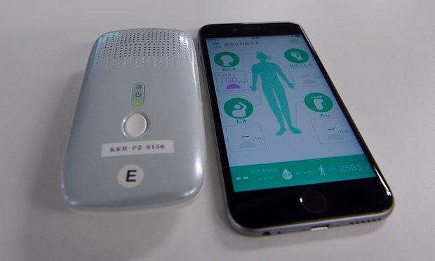 Nhật Bản đã sáng chế một thiết bị thông minh có thể phát hiện ra mùi khó ngửi của cơ thể - Ảnh 3.