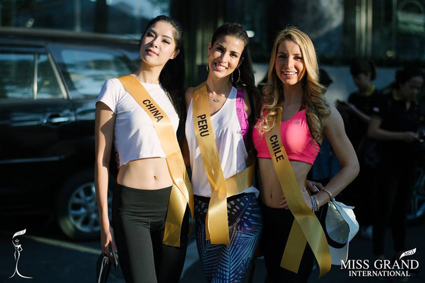 Thí sinh Miss Grand Internationnal 2017 lộ thân hình kém săn chắc - Ảnh 7.