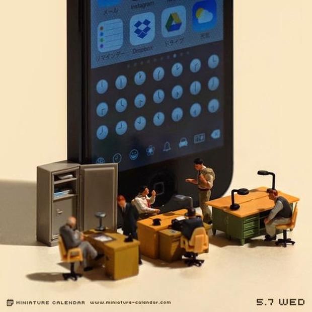 14 mô hình sắp đặt ấn tượng kết hợp từ smartphone - Ảnh 23.