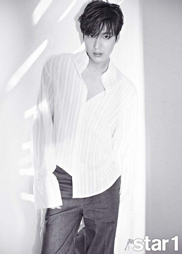 Lee Min Ho xuất hiện trở lại trên bìa tạp chí, mở lòng về chuyện nhập ngũ vào tháng 5 - Ảnh 3.
