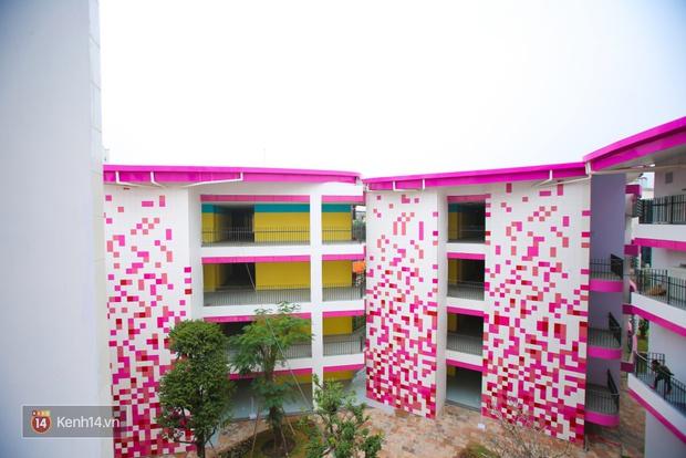Du học tại chỗ ở Hà Nội tại ngôi trường mới toanh, sang xịn và toàn màu hồng! - Ảnh 5.