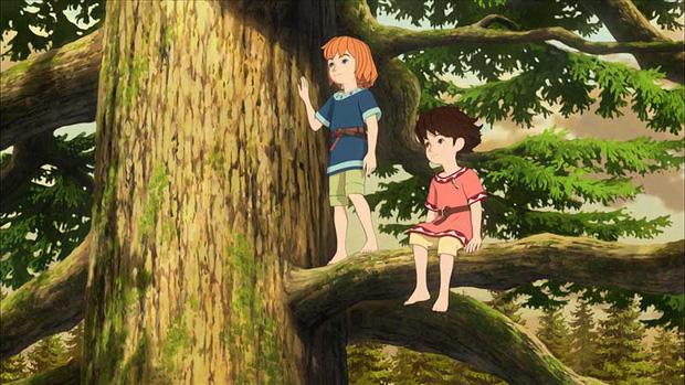 Ghibli Studio tiếp tục đề cao tiếng nói của trẻ em bằng series Ronja - Ảnh 4.
