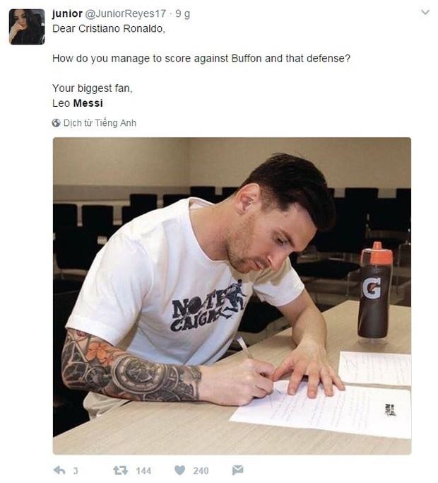 Khổ thân Messi bị biến thành trò cười trong ngày Ronaldo đi vào lịch sử - Ảnh 5.