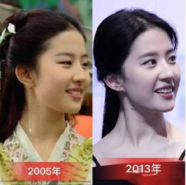 Cùng 1 góc chụp, nhan sắc Lưu Diệc Phi trước và sau 11 năm vẫn đẹp xuất sắc, lấn át Angela Baby - Dương Mịch - Ảnh 10.
