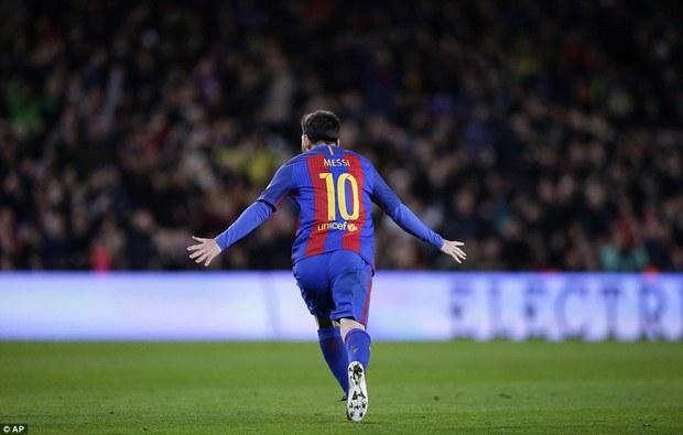 Messi ghi bàn quyết định, Barca ngược dòng vào tứ kết Cúp Nhà vua - Ảnh 3.