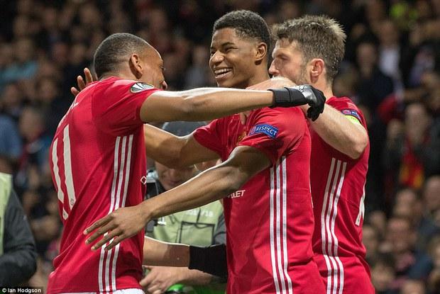 Rashford hóa người hùng ở hiệp phụ, Man Utd vào bán kết Europa League - Ảnh 3.