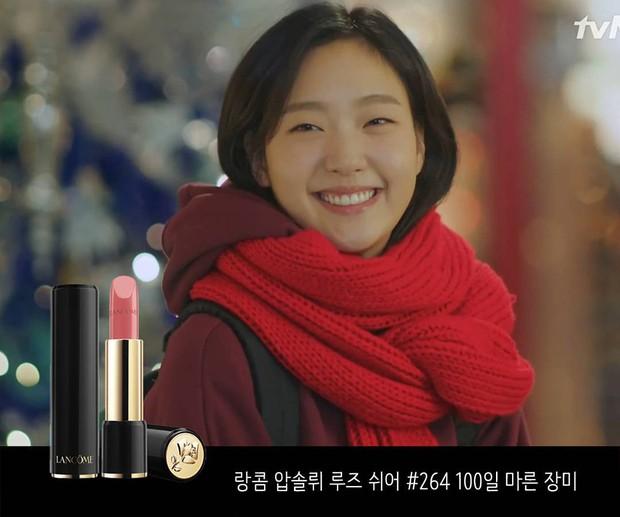 Son màu hồng đất Kim Go Eun diện trong Goblin gây sốt, con gái Hàn thi nhau sắm - Ảnh 4.