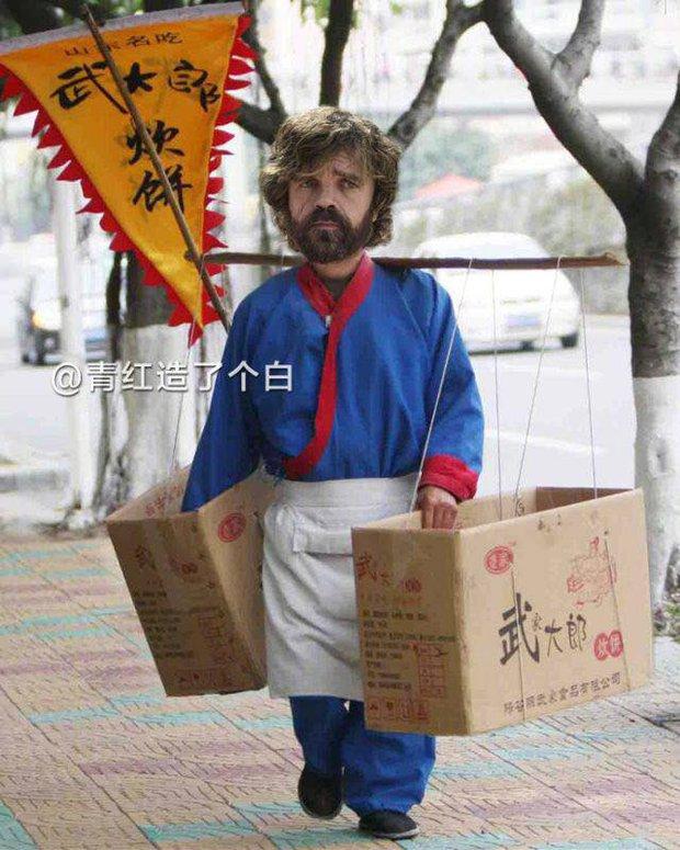 Cười bò với bộ ảnh chế nhân vật Game of Thrones lưu lạc sang Trung Quốc - Ảnh 4.