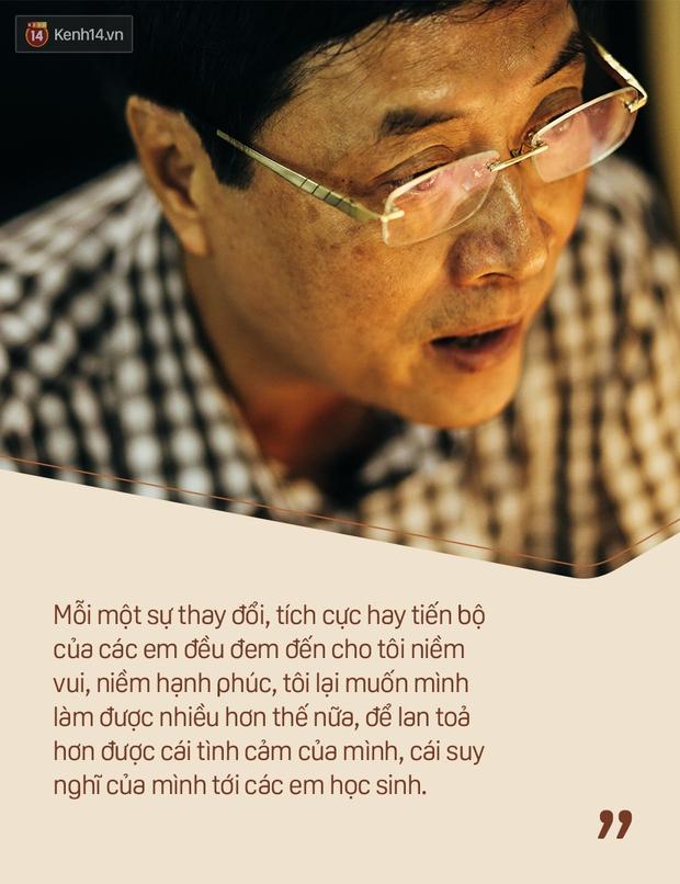Chỉ còn 1 năm cuối ở Việt Đức nữa thôi, thầy Bình sẽ luôn được học sinh nhớ đến là thầy hiệu trưởng vui vẻ nhất Hà Nội! - Ảnh 9.