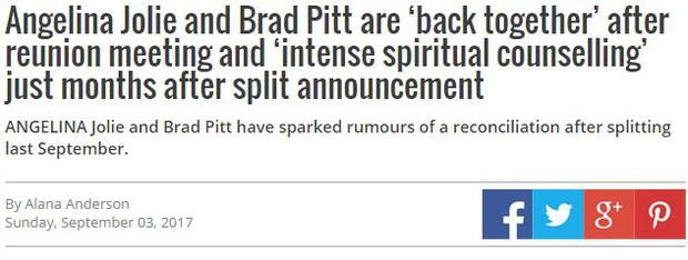 Sốc: Đây mới là sự thật về cuộc tái hợp thế kỷ của Angelina Jolie và Brad Pitt? - Ảnh 2.