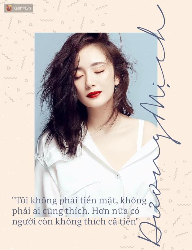 Dương Mịch: Tôi không phải tiền mặt, không phải ai cũng thích - Ảnh 1.