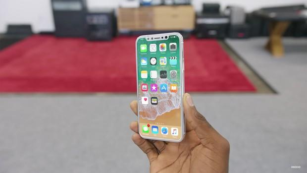 iPhone 8 tiếp tục lộ diện với thiết kế đẹp đến mê mẩn, iFan đã có thể mỉm cười - Ảnh 3.