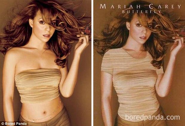 Dở khóc dở cười cảnh bìa CD Âu Mỹ bị mặc thêm quần áo vì quá sexy tại Trung Đông - Ảnh 6.