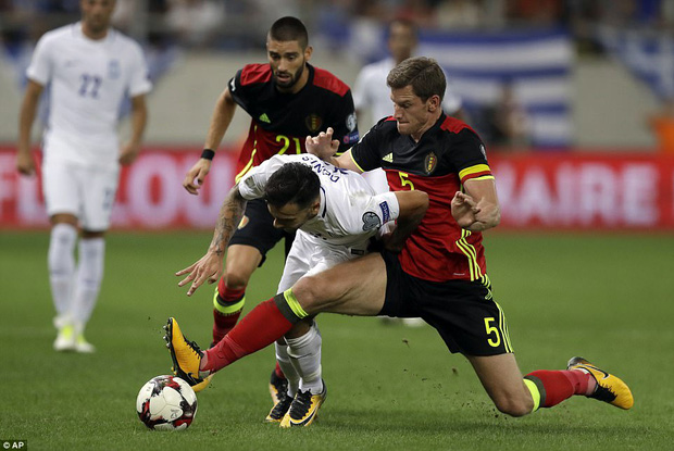 Bom tấn của Man Utd ghi bàn, Bỉ là đội bóng châu Âu đầu tiên dự World Cup 2018 - Ảnh 5.