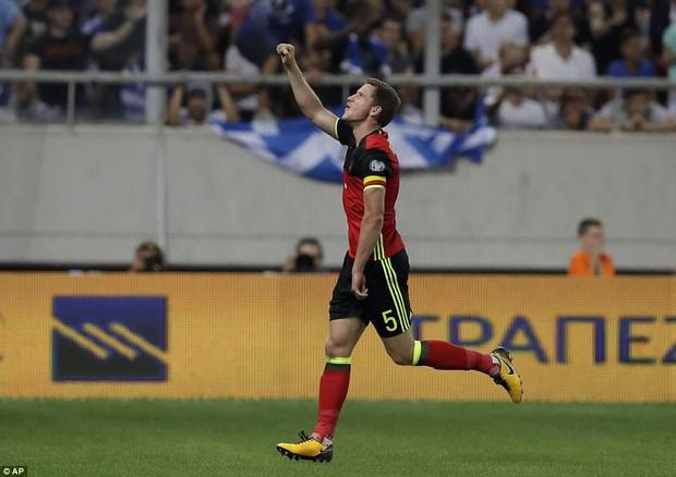 Bom tấn của Man Utd ghi bàn, Bỉ là đội bóng châu Âu đầu tiên dự World Cup 2018 - Ảnh 7.