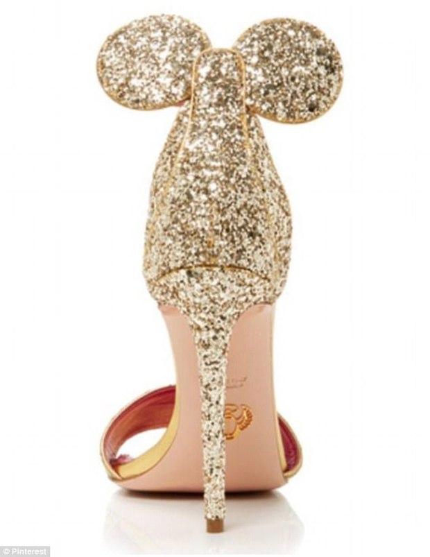 Giày cao gót tai chuột lấp lánh đi vào sang cả chân nhưng chỉ có giá chưa đến 500 nghìn đồng - Ảnh 2.
