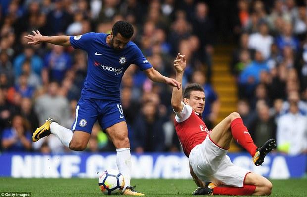 Luiz nhận thẻ đỏ, Chelsea vất vả cầm hòa Arsenal - Ảnh 4.
