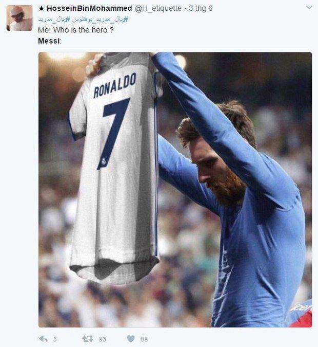 Khổ thân Messi bị biến thành trò cười trong ngày Ronaldo đi vào lịch sử - Ảnh 3.