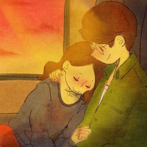 Cảm giác bình yên và ấm áp nhất: Được rúc vào vòng tay bạn trai ngủ quên cả thế giới! - Ảnh 5.