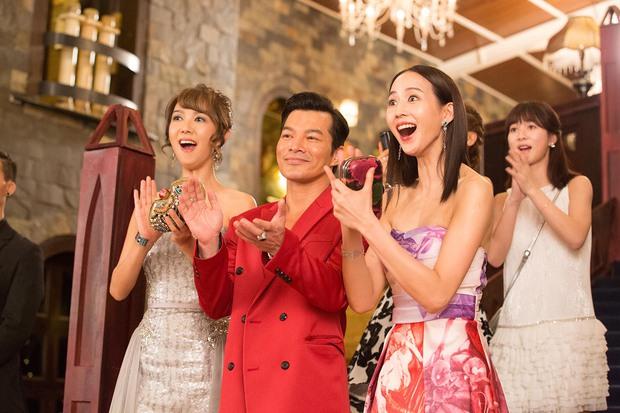 Trương Quân Ninh, Trần Ý Hàm mê chơi đến... bay cả quần áo ở tiệc xa hoa của Trần Bảo Sơn - Ảnh 5.