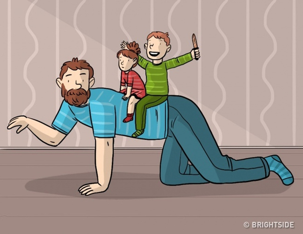 Trên đời này, có những việc chỉ duy nhất bố có thể làm mà thôi - Ảnh 9.