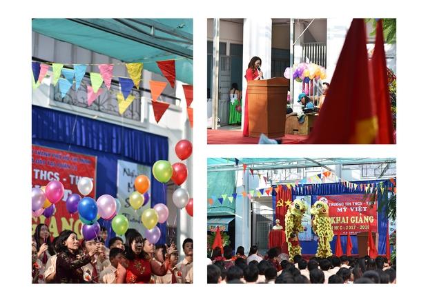 Only C, Miu Lê trở về tuổi thơ trong lễ Khai giảng trường TH-THCS-THPT Mỹ Việt - Ảnh 5.