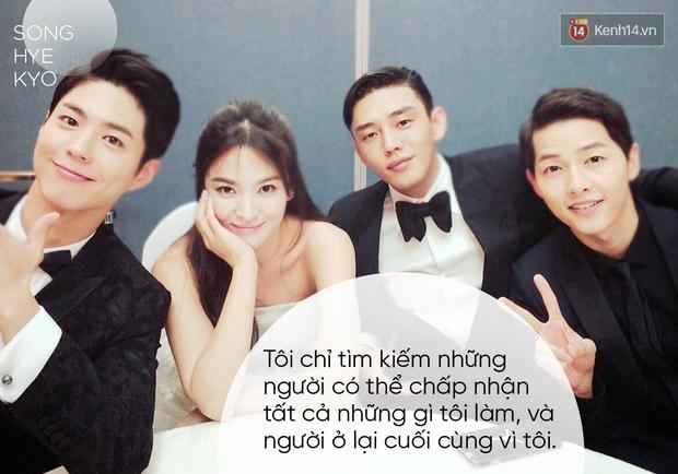 Song Hye Kyo và phụ nữ thời nay: Tự lực tài chính, chủ động ước mơ và đừng ngược đãi bản thân - Ảnh 6.