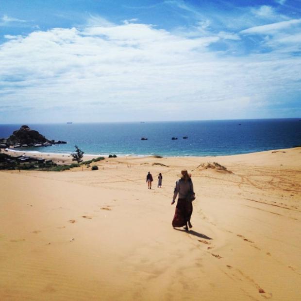 Ngẩn ngơ trước 5 đồi cát đẹp mê hồn ở miền Trung, nhìn thôi đã yêu luôn rồi - Ảnh 52.