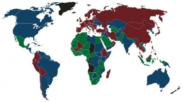 Bí mật về màu sắc của những cuốn hộ chiếu trên thế giới - Ảnh 6.