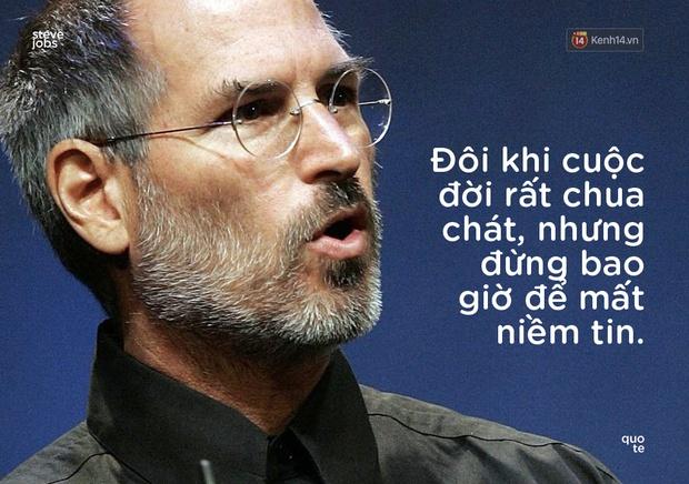 10 câu châm ngôn truyền cảm hứng của Steve Jobs khiến bạn muốn thay đổi bản thân ngay lập tức - Ảnh 6.