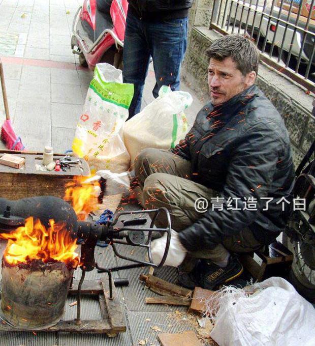 Cười bò với bộ ảnh chế nhân vật Game of Thrones lưu lạc sang Trung Quốc - Ảnh 6.