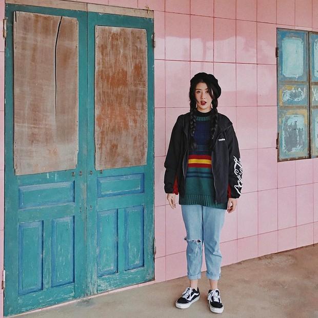 6 xu hướng hot rần rần trong các bức hình OOTD của giới trẻ Việt đầu năm 2017 - Ảnh 22.