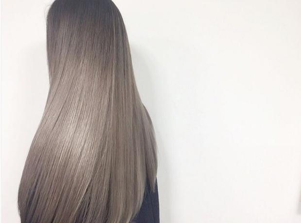 Màu tóc bà ngoại xám bạc xưa rồi, 2017 là phải nhuộm tóc màu nâu sương mù kia! - Ảnh 7.
