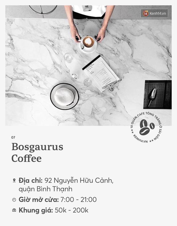 10 quán cà phê tông trắng ở Sài Gòn, cứ đến là có ảnh đẹp! - Ảnh 13.