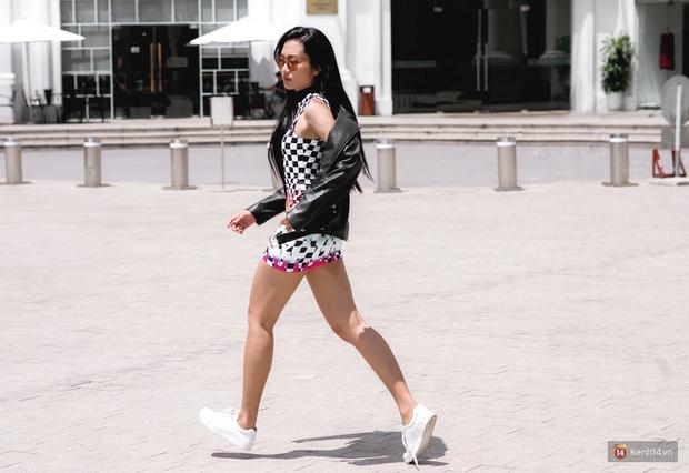 Street style chẳng cần lồng lộn, cứ cao và gầy thì đơn giản cũng thành mặc đẹp của mẫu Việt tuần qua - Ảnh 8.