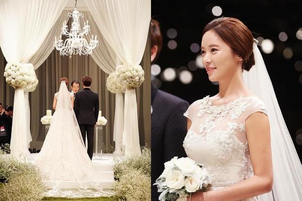 Váy cưới của các mỹ nhân đình đám xứ kim chi: người chi cả tỷ cho hàng hiệu, người diện thiết kế không tên tuổi - Ảnh 10.