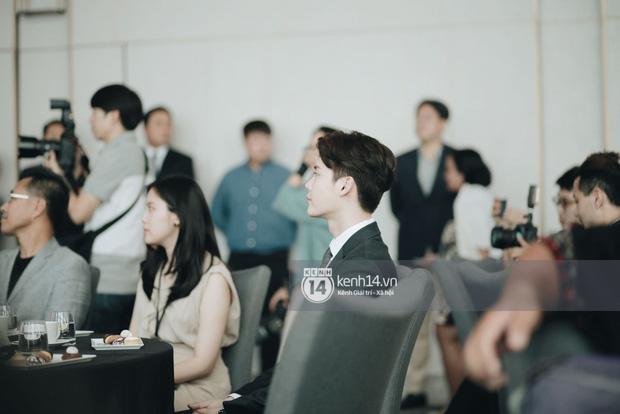 Độc quyền từ Hàn Quốc: Lee Jong Suk điển trai như hoàng tử trong lễ nhậm chức đại sứ du lịch - Ảnh 8.