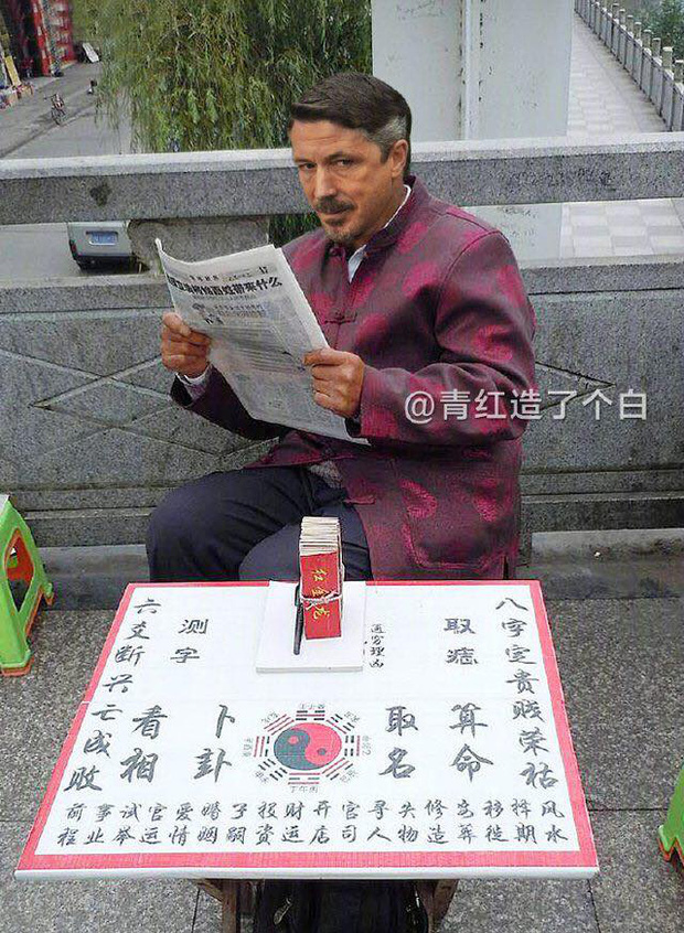Cười bò với bộ ảnh chế nhân vật Game of Thrones lưu lạc sang Trung Quốc - Ảnh 7.