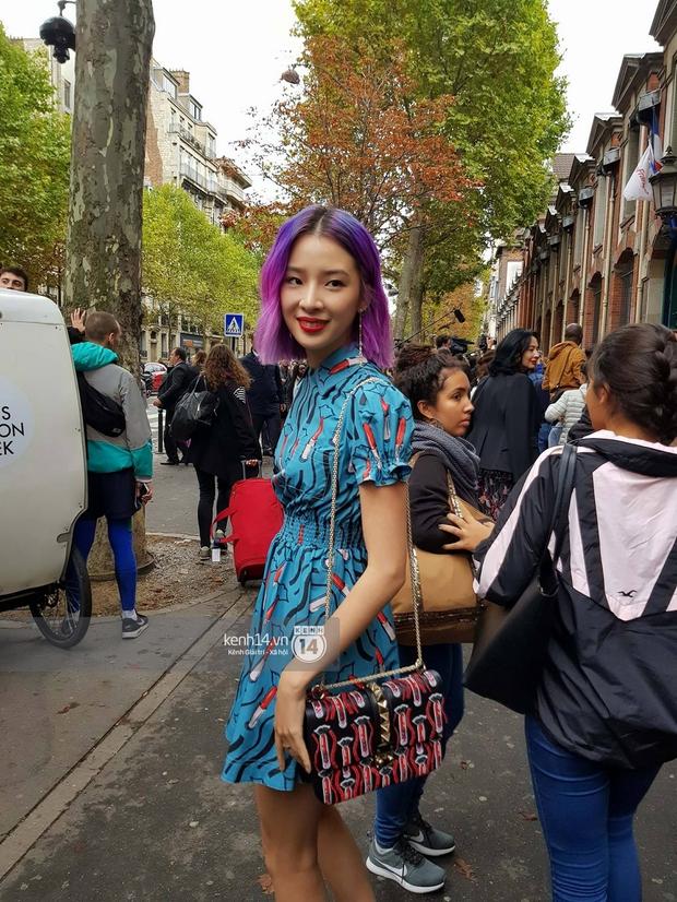 Livestream trực tiếp street style bên ngoài show diễn Valentino Xuân/Hè 2018 - Paris Fashion Week - Ảnh 5.