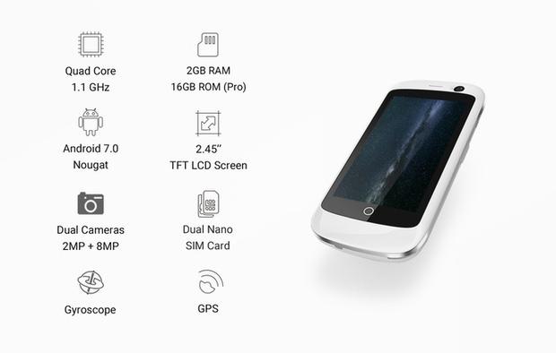 Đây là chiếc smartphone bé nhưng mạnh mẽ nhất thế giới - Ảnh 5.